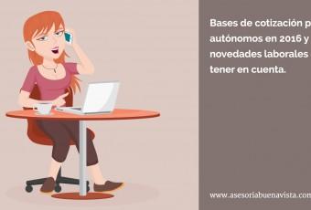 bases de cotizacion autonomos 2016