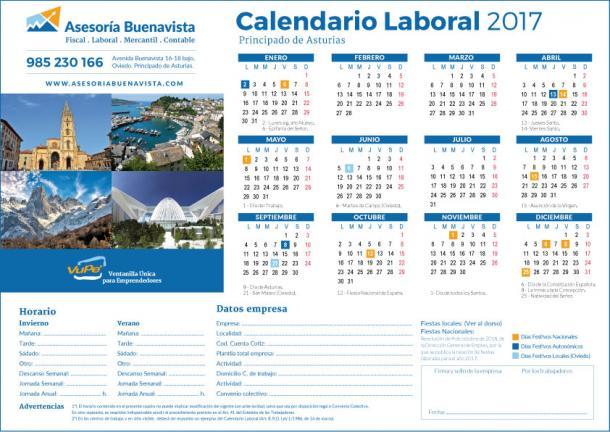 El blog de la asesor a buenavista for Calendario laboral leganes 2017